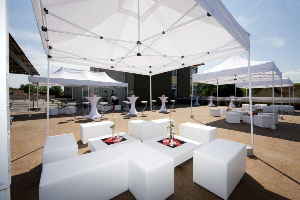 Lounge Mastertentzelt
