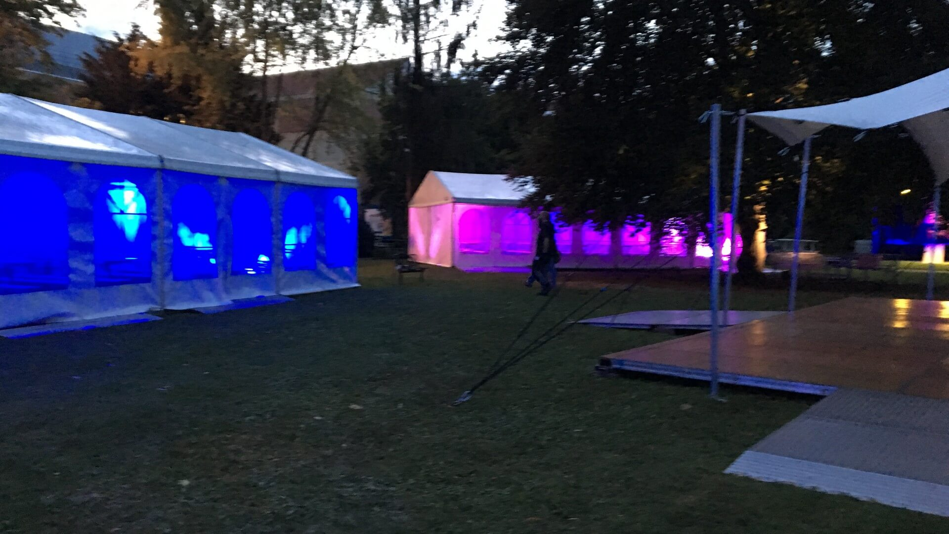 Veranstaltung Zelte